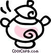 soup pot Vector Clip Art picture