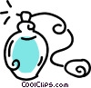 Vector Clip Art graphic  of a perfume