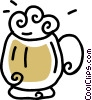 beer mug Vector Clipart picture