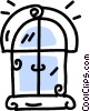 Vector Clipart graphic  of a window