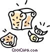 Vector Clipart graphic  of a baked goods