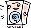 Vector Clipart graphic  of a stereo speaker