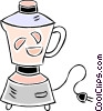 Vector Clipart graphic  of a electric mixer/blender