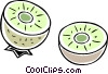 Vector Clip Art image  of a lime