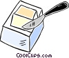 Vector Clip Art picture  of a butter