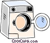 washing machine Vector Clipart picture