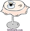 Vector Clip Art picture  of a table