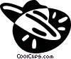 UFO Vector Clip Art graphic