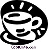 Vector Clipart picture  of a coffee cup