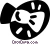 Vector Clip Art picture  of a bow tie