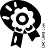 Vector Clipart picture  of a winning ribbon