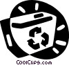 recycle boc Vector Clip Art picture