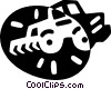 tiller Vector Clipart illustration