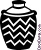 Vector Clipart graphic  of a vase