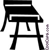 bench Vector Clipart graphic