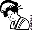 Japanese bowl Vector Clip Art graphic