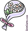 Wedding bouquet Vector Clip Art graphic