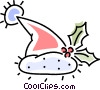 Vector Clipart graphic  of a Santa's hat