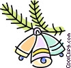 Vector Clipart graphic  of a Christmas decorations