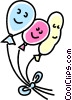 balloons Vector Clipart image