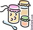 Vector Clipart graphic  of a preserves