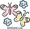 butterflies Vector Clip Art picture