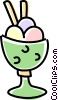 ice cream Vector Clipart image