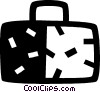 Vector Clipart graphic  of a Suitcase