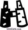 Binoculars Vector Clip Art image