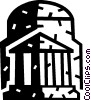 Ancient structure Vector Clip Art graphic