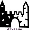 castle Vector Clip Art picture