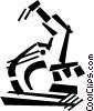 microscope Vector Clip Art picture