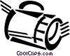 flashlights Vector Clip Art graphic