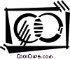 credit card Vector Clipart image