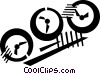 meters Vector Clipart picture