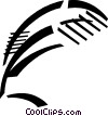 feather pen Vector Clip Art picture
