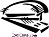 stapler Vector Clip Art graphic