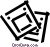 slides Vector Clipart illustration