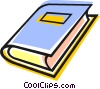 Vector Clipart illustration  of a book