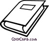 Vector Clip Art picture  of a book