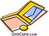 wallet Vector Clipart graphic