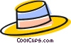 Vector Clip Art image  of a hat