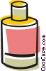 Vector Clip Art graphic  of a Correction fluid