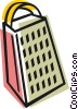 Vector Clipart picture  of a Food grater