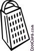 cheese grater Vector Clipart graphic