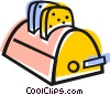 toaster Vector Clipart graphic