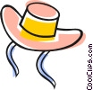 Vector Clipart illustration  of a Hats