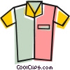 Vector Clip Art graphic  of a Dress shirt