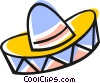 Mexican hat Vector Clipart picture