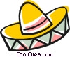 Vector Clipart graphic  of a Mexican hat